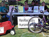 MVHS July 4 Raffle Fundraiser Booth